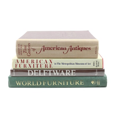 "Antiques and Furniture Reference Books Including ""World Furniture"""