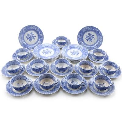 "Spode ""Camilla Blue"" Earthenware Dinnerware, Vintage"