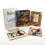 "First Edition ""The Beatles Anthology"" and Other Music Art Books"