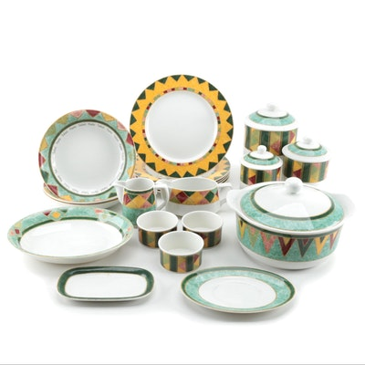 "Royal Doulton ""Japora"" Ceramic Dinnerware, 1998 - 2008"