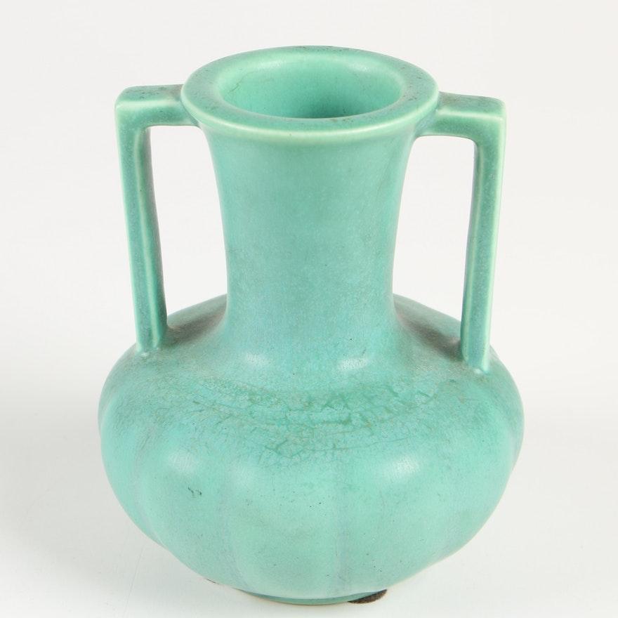 Rookwood Pottery Matte Green Vase, 1933