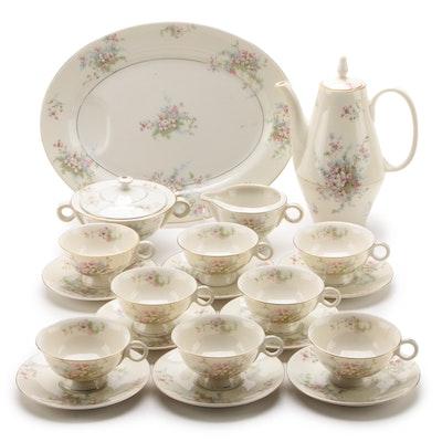 "Theodore Haviland ""Apple Blossom"" Porcelain Dinnerware, 1940 - 1989"