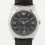 Emporio Armani Stainless Steel Wristwatch