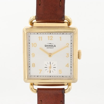 "Shinola ""The Cass"" Stainless Steel Wristwatch"