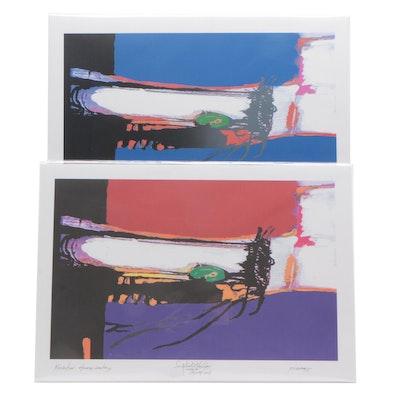 Robert Lackney Abstract Giclee Prints