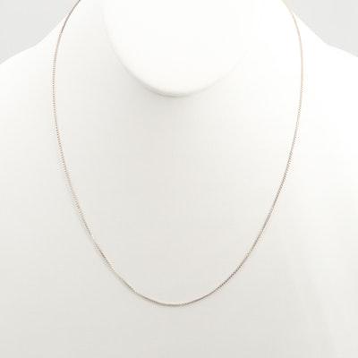 Sterling Silver Single Strand Necklace
