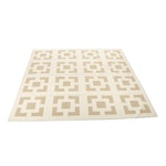 Handwoven Hafizia Indian Dhurrie Room Sized Wool Rug