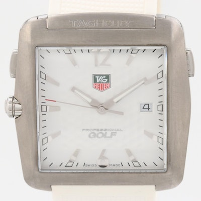 TAG Heuer Professional Golf Tiger Woods Edition Titanium Wristwatch