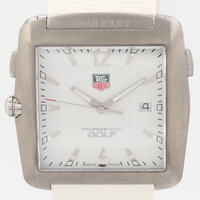 TAG Heuer Professional Golf Tiger Woods Edition Titanium Wristwatch
