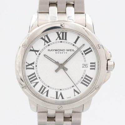 Raymond Weil Tango Stainless Steel Wristwatch With Date