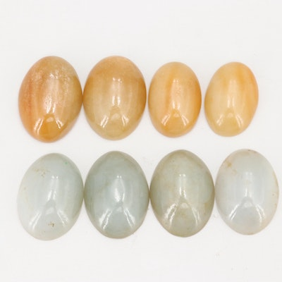 Loose 239.44 CT Jadeite Gemstones
