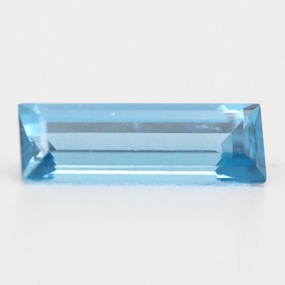 Loose 3.50 CT Blue Topaz Gemstone
