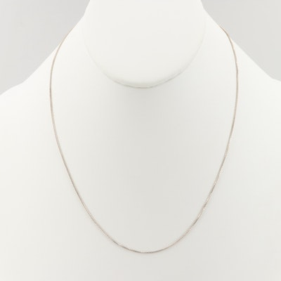 Sterling Silver Chain Necklace