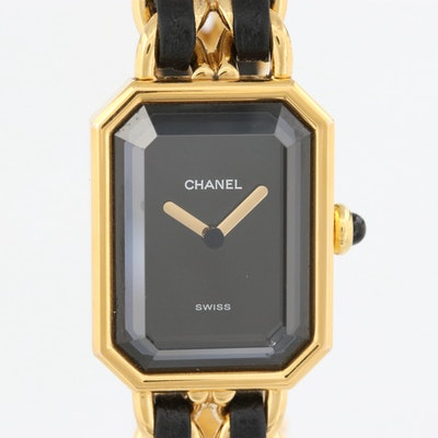 Vintage Chanel Premiere Rock Watch Quartz Wristwatch