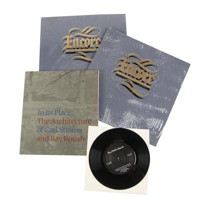 Contemporary Arts Center Catalogs and Paul Martin Palombo Vinyl Record