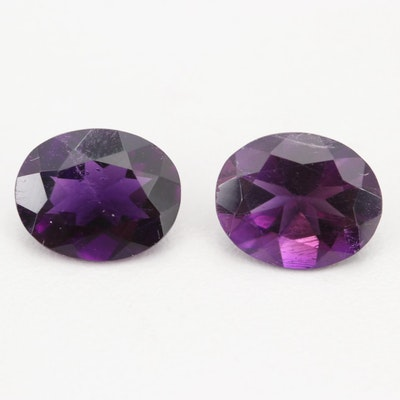 Loose 5.50 CT Amethyst Gemstones