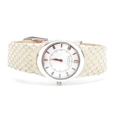 Stührling Original Swiss 18 Jewel Leather Watch