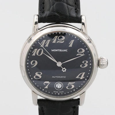 Montblanc Meisterstuck Stainless Steel Automatic Wristwatch