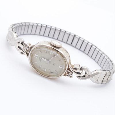 Lady Hamilton 14K White Gold Wrist Watch