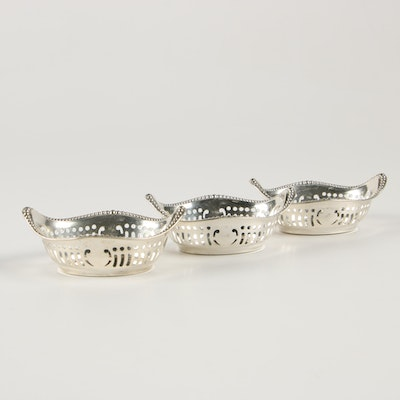 Gorham Sterling Silver Nut Dishes, Early/Mid 20th Century