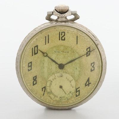 Vintage Waltham 14K Gold Filled Pocket Watch, 1924