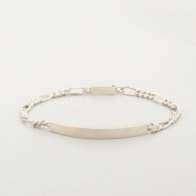 Sterling Silver Bar Bracelet