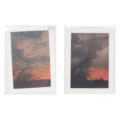 "Oren Johnson Serigraphs ""Serenade"" and ""Solace II"""