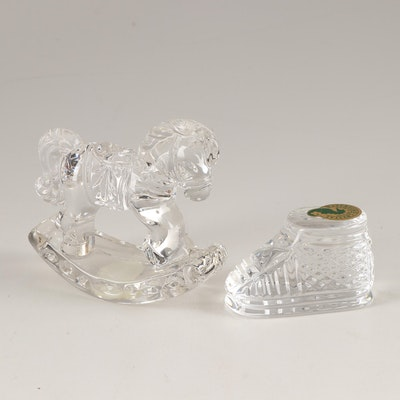 Waterford and Princess House Crystal Figurines