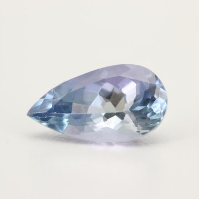 Loose 1.98 CT Tanzanite Gemstone