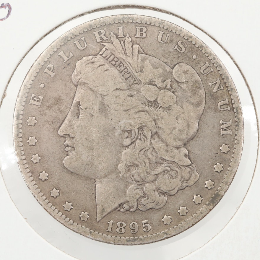 Low Mintage 1895-O Silver Morgan Dollar