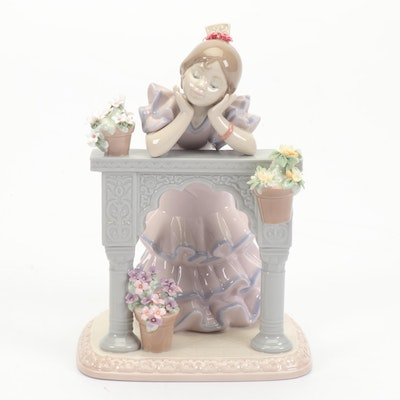 "Lladró ""A Perfect Day"" Hand-Painted Porcelain Figurine, 1997"