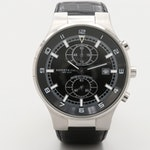 Kenneth Cole Stainless Steel Chronograph Wristwatch With Date