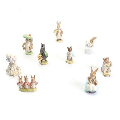 Royal Albert Beatrix Potter Figurines