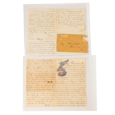 Civil War Era Letters from William H. Knauss to His Wife and Daughter, 1862