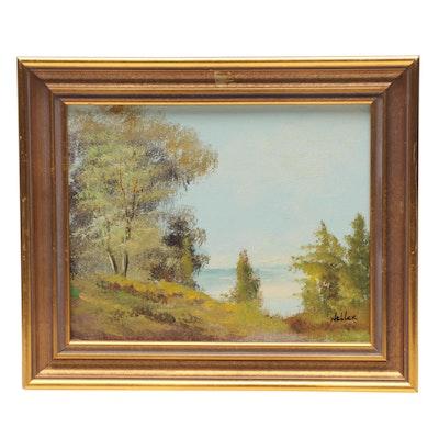 Wehler Landscape Oil Painting