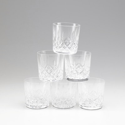 """Waterford """"Lismore"""" Old Fashioned Crystal Glasses"""