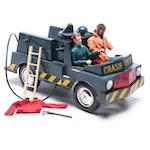 G. I. Joe Crash Crew Truck and Action Figure, Circa 1960s
