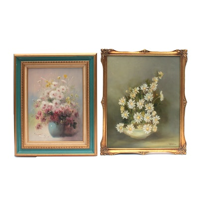 Chrystobel Anderson Floral Still Life Oil Painting and More