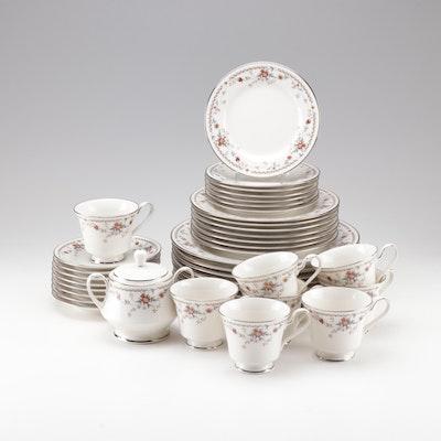 "Noritake Porcelain ""Adagio"" Dinnerware, Late 20th Century"
