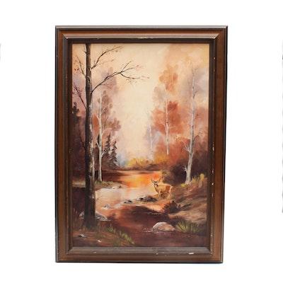 Lynda McDonald Oil Painting of Landscape