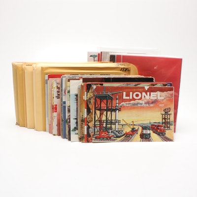 Lionel and Other Train and Accessory Manuals and Track Layout Books