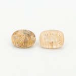Loose 20.90 CTW Rutilated Quartz Gemstones
