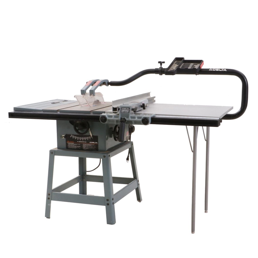 Delta 10 Contractor Table Saw With Unifence Saw Fence Guide