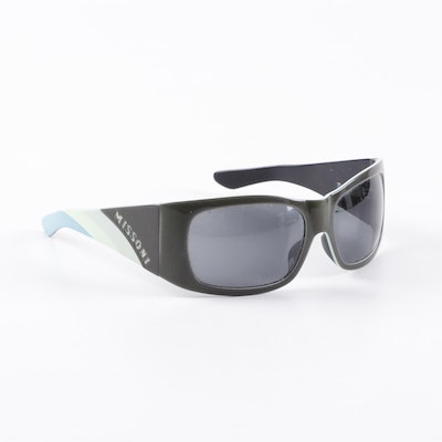 Missoni Matte Wrap-Framed Sunglasses