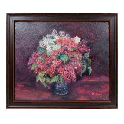 L. Murray Oil Painting of Still Life