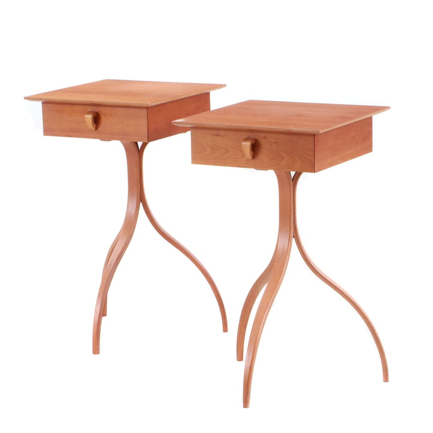 """Thomas Stender for Sigma """"Modulus"""" End Tables, Mid 20th-Century"""