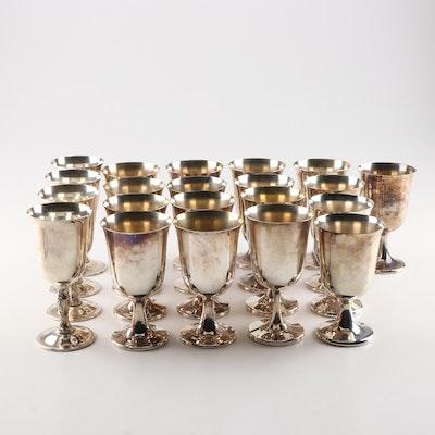 Sheridan, Rogers Silver Plate Goblets