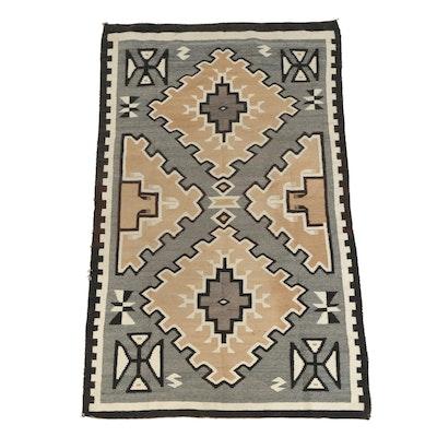 Handwoven Southwestern Style Wool Rug