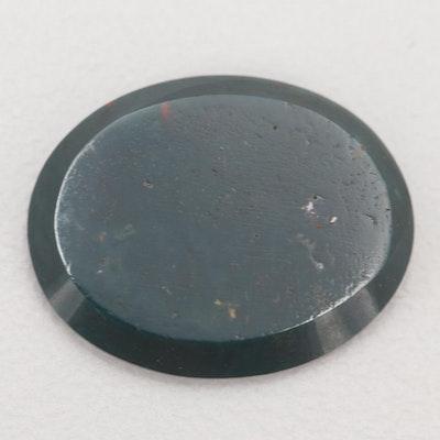Loose 4.39 CT Bloodstone Gemstone