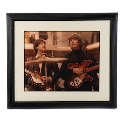 George Harrison Autographed Photo